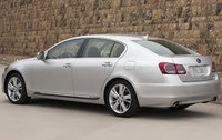 2011 Lexus GS 450h, Back Left Quarter View, exterior, manufacturer
