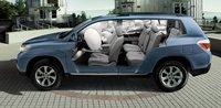 2011 Toyota Highlander Hybrid, Front and back seats., interior, manufacturer