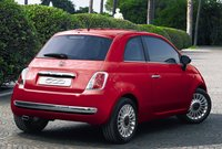 2011 FIAT 500, Rear view. , exterior, manufacturer