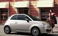2011 FIAT 500, Side view. , exterior, manufacturer