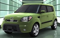 2011 Kia Soul, Left three quarter view., exterior, manufacturer, gallery_worthy