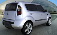 2011 Kia Soul, Rear view. , exterior, manufacturer, gallery_worthy