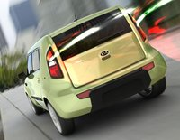 2011 Kia Soul, Back view. , exterior, manufacturer, gallery_worthy