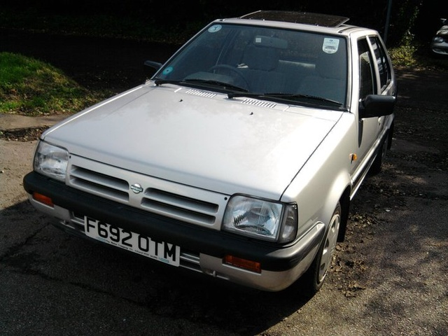 Here it is, the 1989 Nissan Micra 1.2 SLX Auto with just under 12,000 genuine miles from new. Bought off its original 80 year old owner last week!, exterior, gallery_worthy