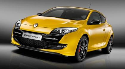 Renault Sport; front quarter view.