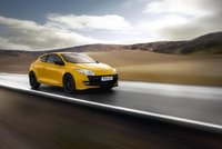 2010 Renault Megane RS 250 Cup; front quarter view in motion., exterior, manufacturer