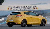 2010 Renault Megane RS 250 Cup; back three quarter view. , interior, manufacturer