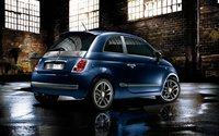 2010 Fiat 500, Back three quarter view. , exterior, manufacturer