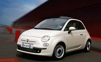 2010 Fiat 500, Front quarter view, exterior, manufacturer