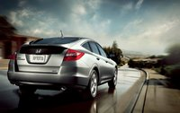 2011 Honda Accord Crosstour, Back view. , exterior, manufacturer