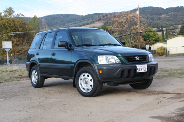 2001 Honda CR-V LX 4WD picture, exterior