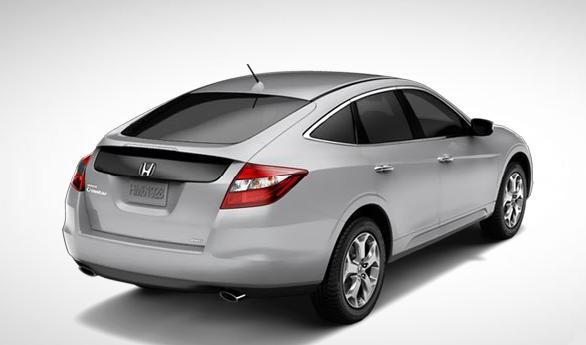 2011 Honda Accord Crosstour, Right, three quarter back view. , manufacturer, exterior