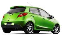 2010 Mazda MAZDA2, Hatchback rear, three quarter view. , exterior, manufacturer