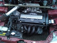 Picture of 1993 Honda Civic CX Hatchback, engine, gallery_worthy