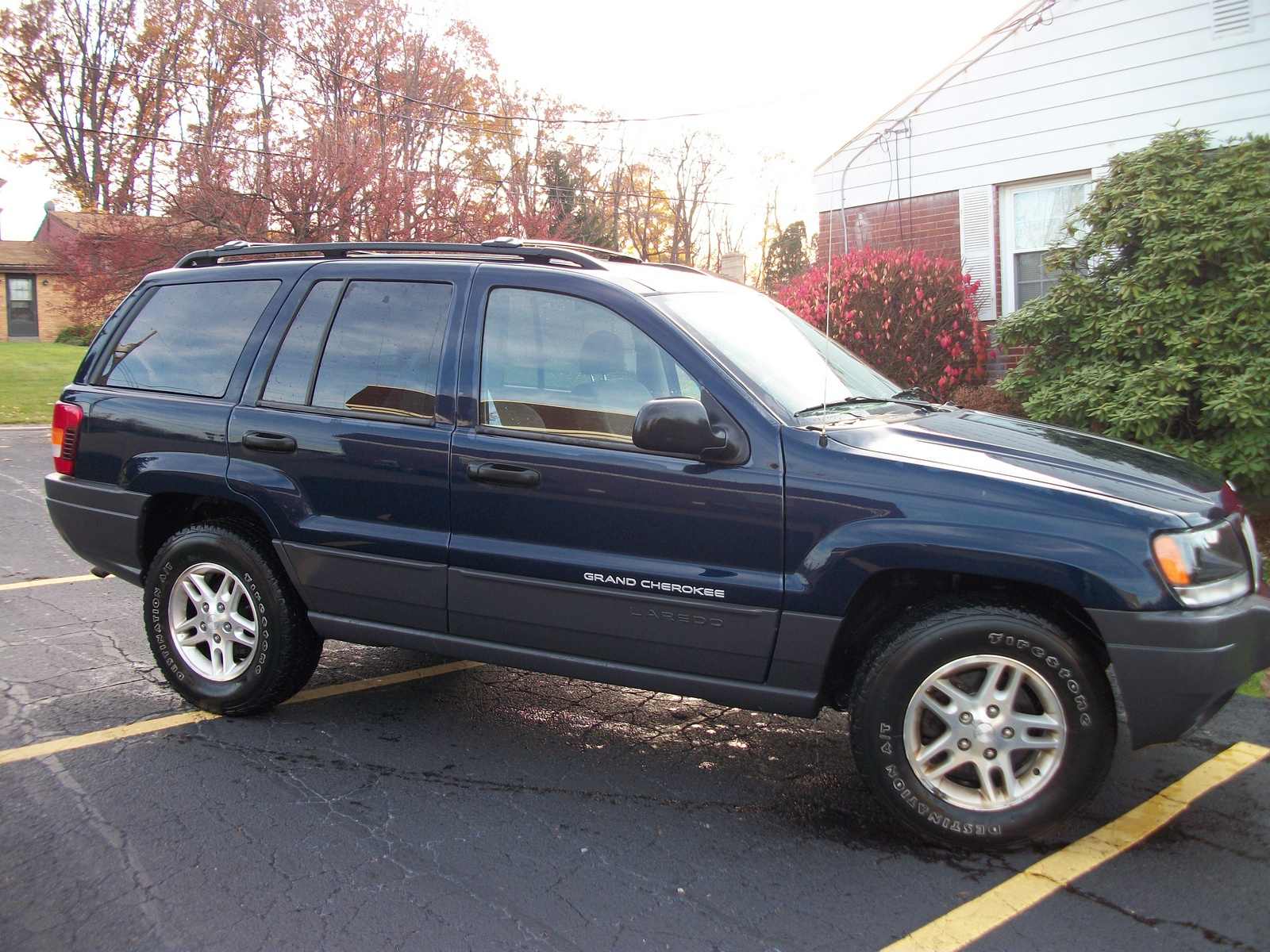 picture of 2004 jeep grand cherokee laredo 4wd exterior. Black Bedroom Furniture Sets. Home Design Ideas