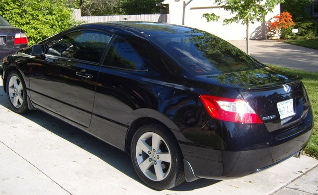 Picture of 2007 Honda Civic Coupe EX, exterior, gallery_worthy