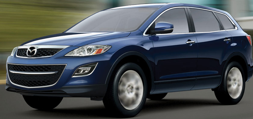 2011 Mazda CX-9, Three, quarter left view. , manufacturer, exterior