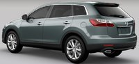2011 Mazda CX-9, Rear, right quarter view. , exterior, manufacturer
