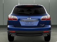 2011 Mazda CX-9, Back view. , exterior, interior, manufacturer