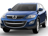 2011 Mazda CX-9, Front quarter view. , exterior, manufacturer, gallery_worthy