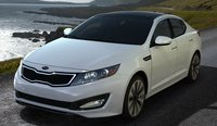2011 Kia Optima, Left, front quarter view., exterior, manufacturer