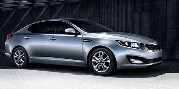 2011 Kia Optima, Right quarter view. , exterior, manufacturer