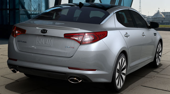 2011 Kia Optima, Rear view. , exterior, manufacturer