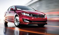 2011 Kia Optima, Front, right quarter view. , exterior, manufacturer