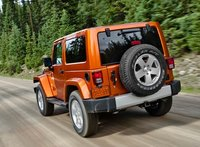 2011 Jeep Wrangler, Back quarter view. , exterior, manufacturer, gallery_worthy