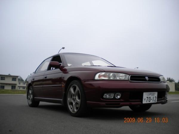 1998 subaru legacy 4 dr gt awd sedan the wife s exterior