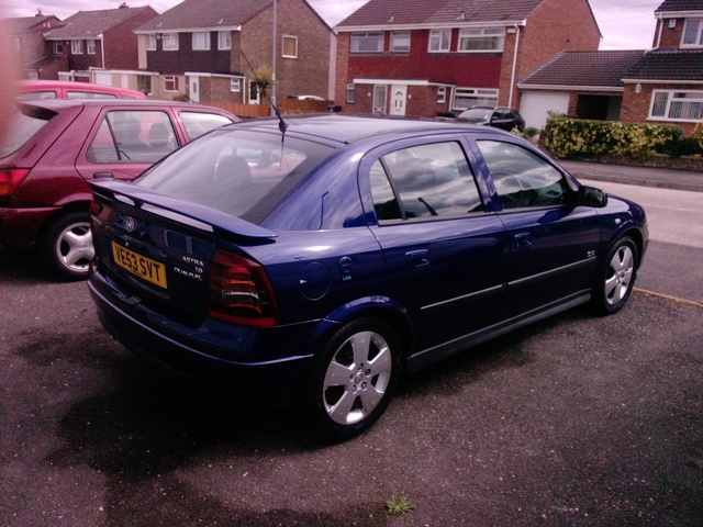 2004 Vauxhall Astra 1.8 SRI LPG , exterior
