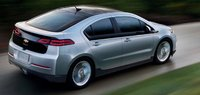 2011 Chevrolet Volt, Rear quarter right view. , exterior, manufacturer