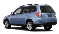 2011 Subaru Forester, Rear quarter view. , exterior, manufacturer