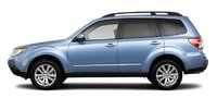 2011 Subaru Forester, Side view. , exterior, manufacturer