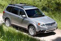 2011 Subaru Forester, Three quarter view. , manufacturer, exterior