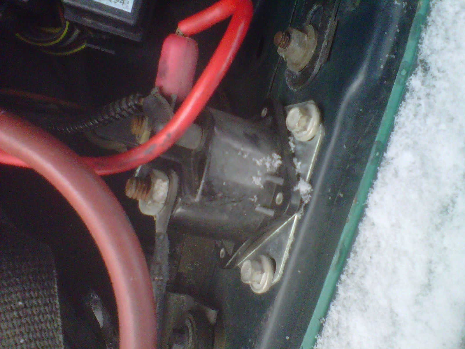 photo 1992 lincoln continental starter solenoid wiring