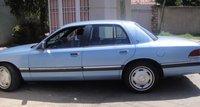 1992 Mercury Grand Marquis 4 Dr GS Sedan, sky Blue, exterior