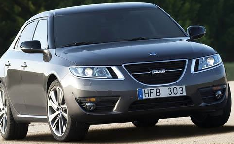 2011 Saab 9-5, Front three quarter view. , manufacturer, exterior