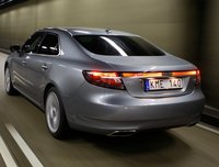 2011 Saab 9-5, Back three quarter view. , exterior, manufacturer, gallery_worthy