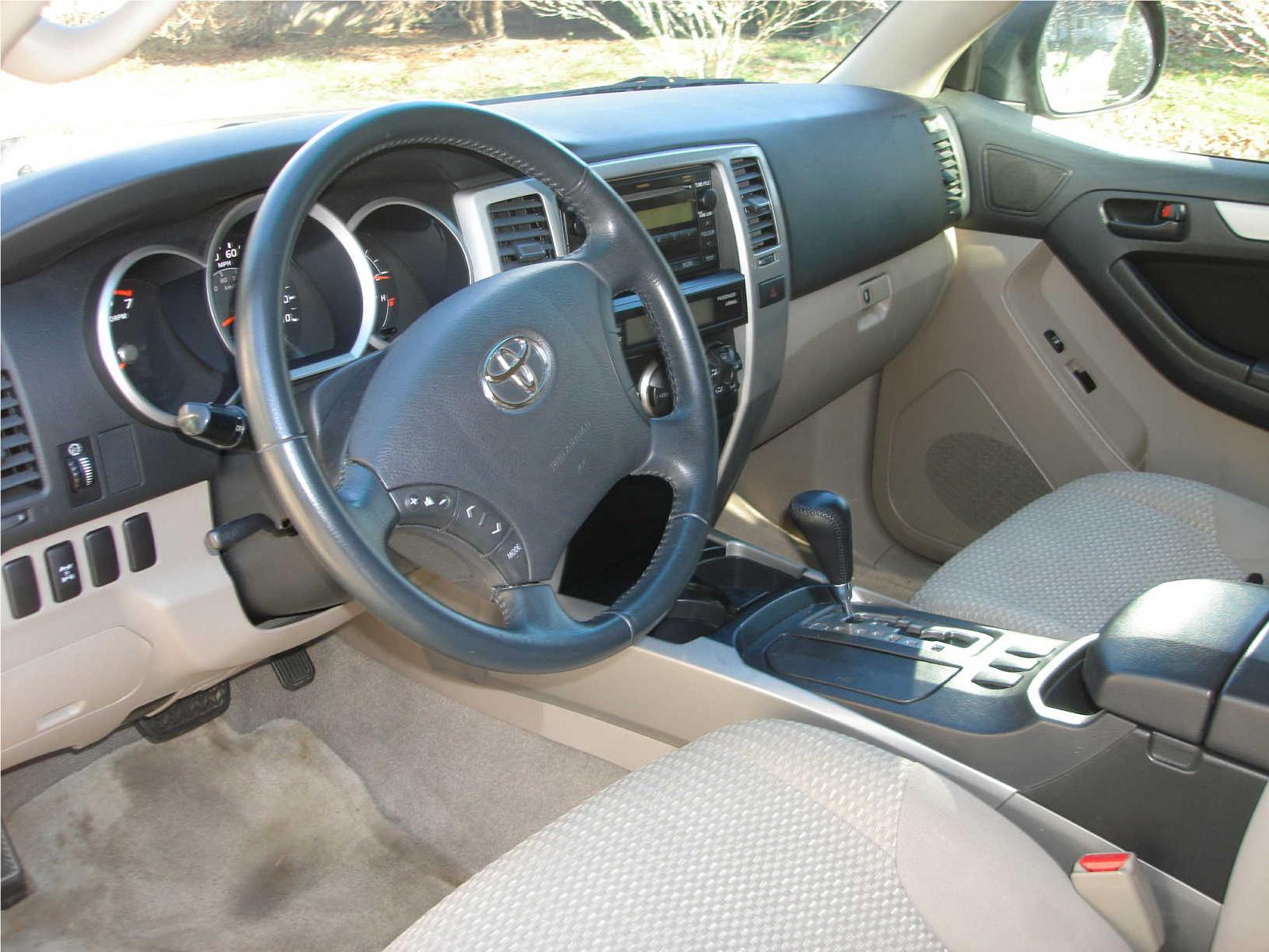 2006 Toyota 4runner Interior Pictures Cargurus