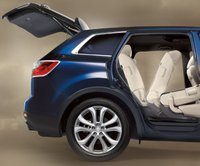 2011 Mazda CX-9, Trunk and back doors open. , exterior, manufacturer