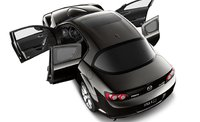 2011 Mazda RX-8, Aerial view with open doors. , exterior, manufacturer