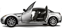 2011 Mazda RX-8, Left side with open doors. , exterior, manufacturer