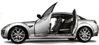 2011 Mazda RX-8, Left side with open doors. , manufacturer, exterior