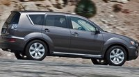 2011 Mitsubishi Outlander, Side View. , exterior, manufacturer
