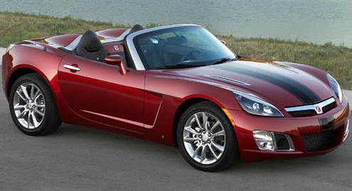 2009 Saturn Sky, Front view. , exterior, manufacturer