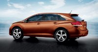 2011 Toyota Venza, Back three quarter view. , exterior, manufacturer