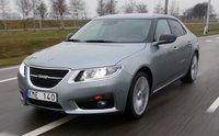 2011 Saab 9-5, Front quater view. , exterior, manufacturer