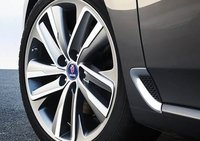 2011 Saab 9-5, Close-up of Wheel. , exterior, manufacturer