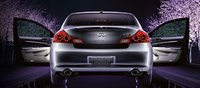 2011 Infiniti G37, Back view with open doors. , exterior, manufacturer